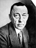 Sergei Vasilevich Rachmaninov (1873-1943) Print