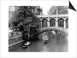 Punting at Cambridge Prints by Henry Grant