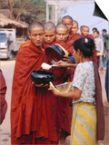 Using Rice, Myanmar Prints by Richard I'Anson