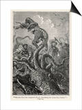 20,000 Leagues Under the Sea: The Squid Claims a Victim Posters af Hildebrand
