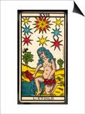 Tarot: 17 L'Etoile, The Star Poster