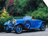 1928 Hispano Suiza 45 Model 9 Poster