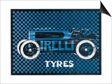 Pirelli Tyres, for Racing Cars Posters
