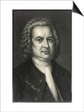 Johann Sebastian Bach German Organist and Composer Posters