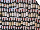 Fridge Magnet Wine Bottles., St. Emilion, Aquitaine, France Prints by Greg Elms