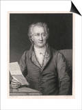 Johann Wolfgang Von Goethe German Writer and Scientist Prints