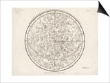 The Northern Hemisphere Including the Signs of the Zodiac Prints