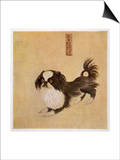 This is How the Pekingese Dog Looked in Its Native China as Depicted in an Imperial Dog Book Posters