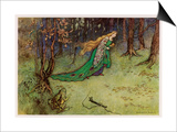Frog Prince Art by Warwick Goble