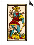 Tarot: Le Mat, The Fool Print