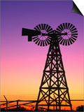 Windmills at American Wind Power Center, Lubbock, Texas Prints by Richard Cummins