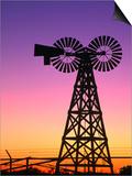 Windmills at American Wind Power Center, Lubbock, Texas Prints by Richard Cummins