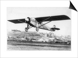 "Charles Lindbergh in the ""Spirit of St. Louis"" Sets off from New York Prints"