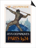 Poster for the Paris Olympiad Poster by  Orsi