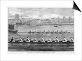 The Boat Race, Ready to Start Art by Harry Payne
