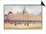 """Harrods of London """"The Most Elegant and Commodious Emporium in the World"""" Prints"""