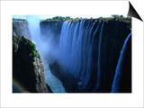 Victoria Falls, Victoria Falls,Southern Province,Zambia Print by Carol Polich