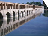 Si-O-Se Bridge, Bridge of 33 Archs, Esfahan, Iran Prints by Simon Richmond