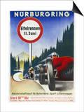 Motor Racing 1930s Affiche