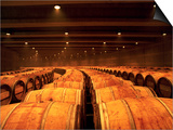 Barrel Room at Opus One, Napa Valley, California Posters by Oliver Strewe