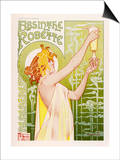 Absinthe Robette Prints by Privat Liremont