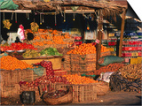 Vegetable and Fruit Stand, Sharm El-Sheikh, Egypt Posters by John Elk III