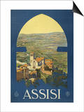 Assisi, c.1920 Posters by Vittorio Grassi
