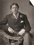 Oscar Wilde Art by  Downey