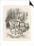 Fawn Alice and the Fawn Poster by John Tenniel