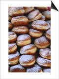 Detail of Doughnut Stack, France Prints by Frances Linzee Gordon