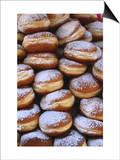 Detail of Doughnut Stack, France Prints by Frances Linzee Gordon