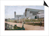 The Crystal Palace and Grounds, Looking from the South East Prints