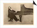 Johannes Brahms German Musician Posters