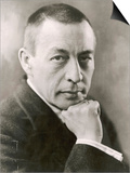 Sergei Rachmaninov Russian Composer Print