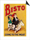 Bisto the Bisto Kids Bisto Gravy, Going to the Meat Poster