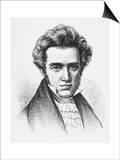 Soren Aabye Kierkegaard Danish Philosopher Prints