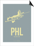 Phl Philadelphia Poster 1 Posters by  NaxArt