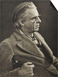 William Butler Yeats Irish Poet and Dramatist Posters