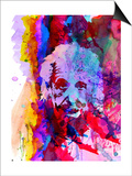 Einstein Watercolor Prints by Anna Malkin