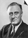 Franklin Delano Roosevelt 32nd President of the USA in the Year of His Election Posters