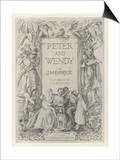 The Frontispiece to J.M.Barrie's Prose Version of Peter Pan Posters by Francis Bedford