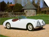 1954 Jaguar XK120 Art