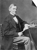 Ralph Waldo Emerson American Essayist and Poet Print