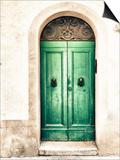Green Door Posters by Marco Carmassi