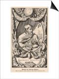 Amerigo Vespucci Italian Navigator Print