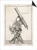 Nairn's Equatorial Telescope Prints by  Benard