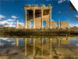 Sacred Way and Ionic Stoa at Miletus Prints by Nejdet Duzen