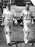 B.O. Allen and P.A. Gibb Open the Innings, Lord's, 1938 Posters