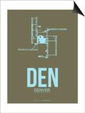 Den Denver  Poster 3 Poster by  NaxArt