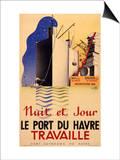 Le Havre Port Poster Prints